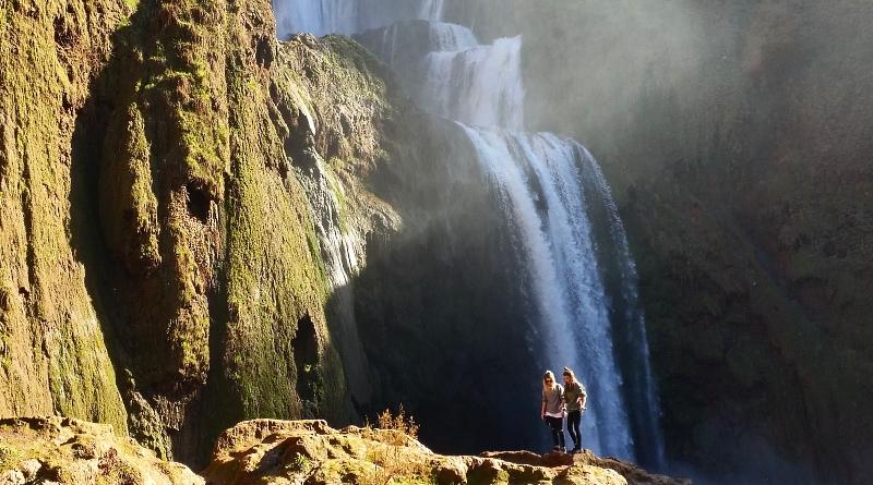 Cascatas de Ouzoud Marrocos